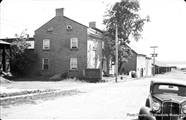Old photo of Beecher House taken from Henry Street